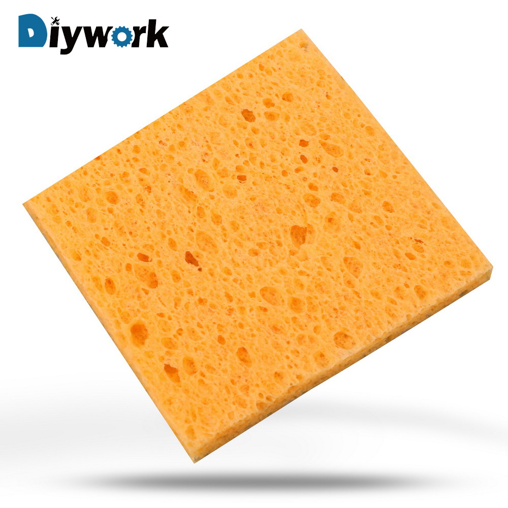 DIYWORK Soldering Iron Tip Welding Cleaning Sponge Pads 6cm*6cm Soldering Iron Replacement Sponges Universal