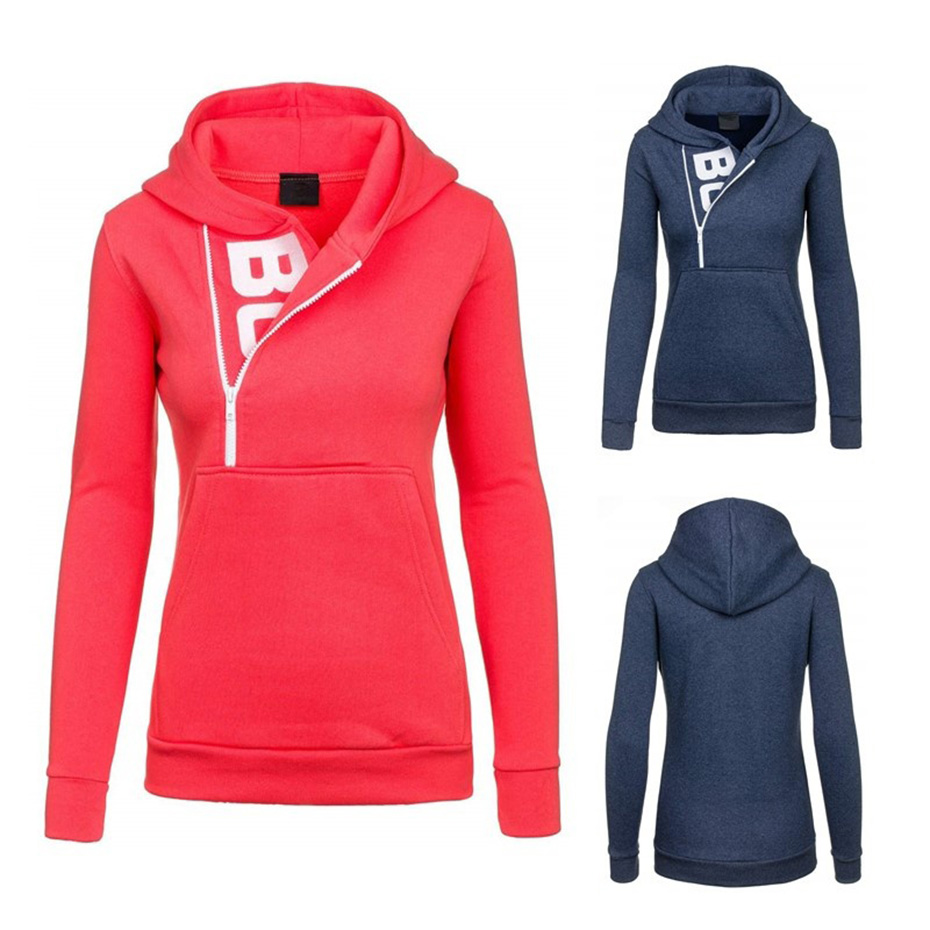Zogaa 2018 Women Fashion Fleeces Sweatshirts Hooded Candy Colors Solid Sweatshirt Long Sleeve Pullovers Clothing Sudaderas Mujer in Hoodies amp Sweatshirts from Women 39 s Clothing