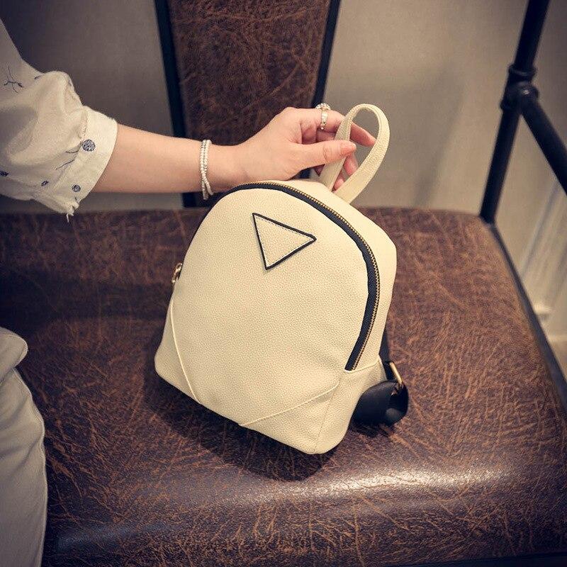 Women PU Leather Backpack Backpack Mini Backpack Women Back Pack Backpacks For Teenage Girls Ladies Bag T1586