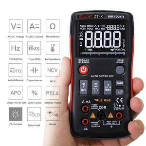 Image 2 - Bside ZT X true rms multímetro digital 3 line triple display 9999 contagens ac/dc tensão temperatura capacitância tester dmm zt301