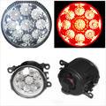 Для DACIA Duster Sandero LOGAN 2004-2015 Красный Автомобиль DRL LED Противотуманные Фары Лампы