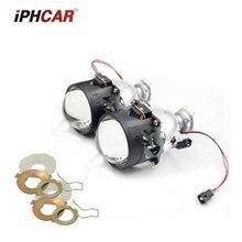 2pcs 2.5inch Bi xenon Bixenon bi-xenon Projector lens H1 H4 H7 motorcycle car hid projector lens headlight Headlamp