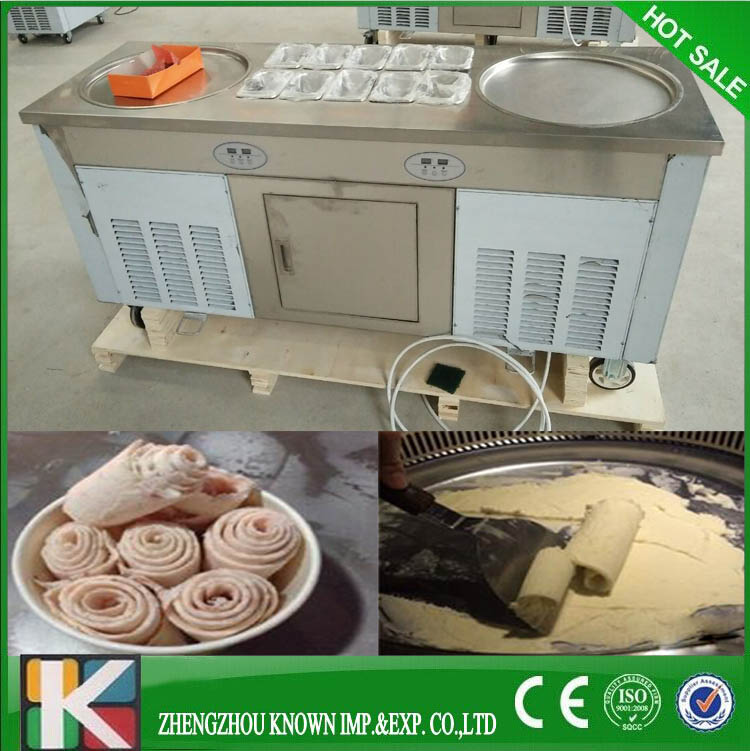 Stir fry dondurma makinesi/fry dondurma makinesi (2 + 10)Stir fry dondurma makinesi/fry dondurma makinesi (2 + 10)