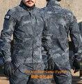 Тифон Полиции тактическая Куртка Армии Creeper Creeper Топы Камуфляж Долг Куртка Ripstop Природный Камуфляж куртки Униформу