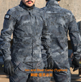 Typhon Police tactical Jacket Army Creeper Tops  Camo Creeper Duty Jacket  Ripstop Natural Camo jacket Uniforms