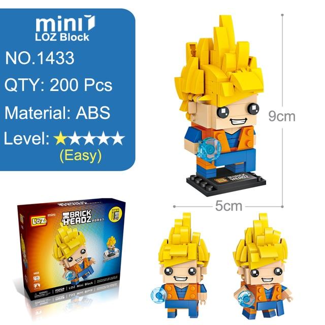 Dragon Ball Z Building Blocks 200pcs Action Figure Toy