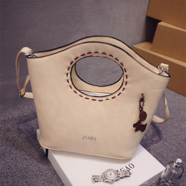 2017 new fashion leather handbags vintage candy color shell bags Crossbody women bag Shoulder diagonal small bags