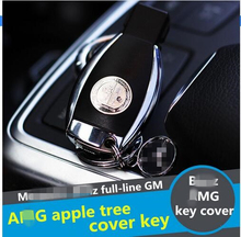 OEM apple tree key cover for A//M///g logo W204 W212 W218 W221 W166 car-styling