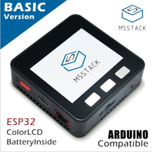 M5Stack официальное предложение! ESP32 базовый Базовый комплект разработки расширяемый микро Контроль Wifi BLE IoT прототип плата для Arduino