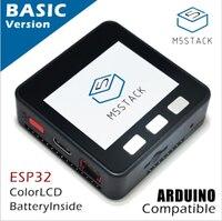 M5Stack offre de Stock officielle! ESP32 Base Kit de Développement Extensible Micro Contrôle Wifi BLE IoT Prototype pour Arduino