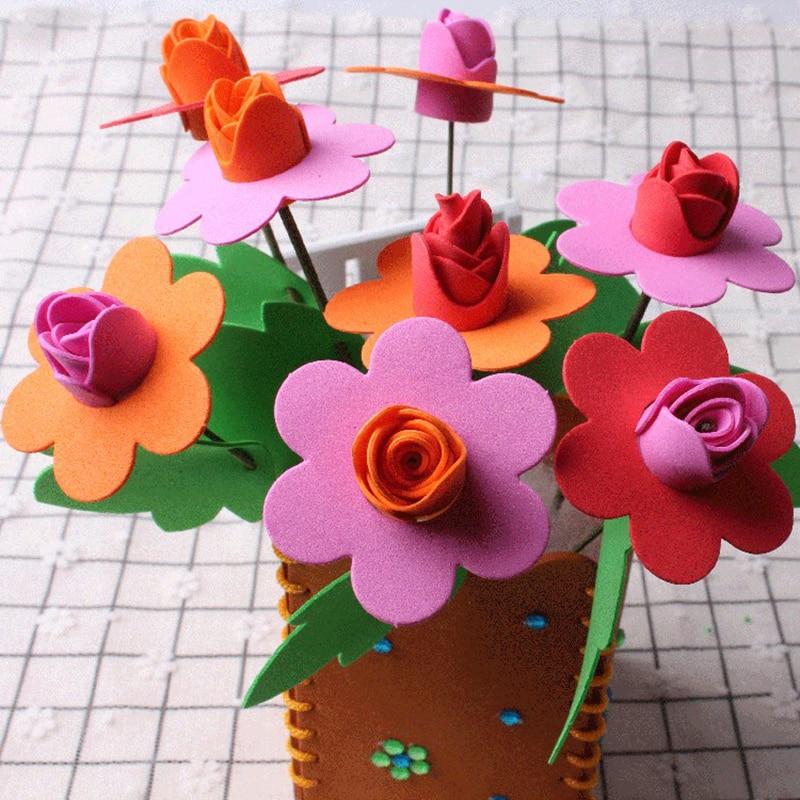 Uaincube Handicraft Toys Flowers For