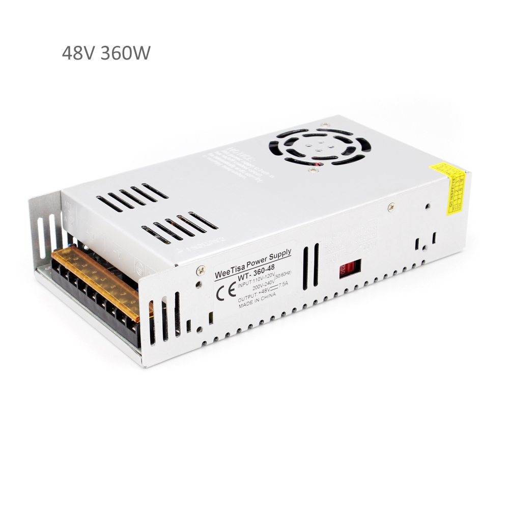 48V 360W Power Supply