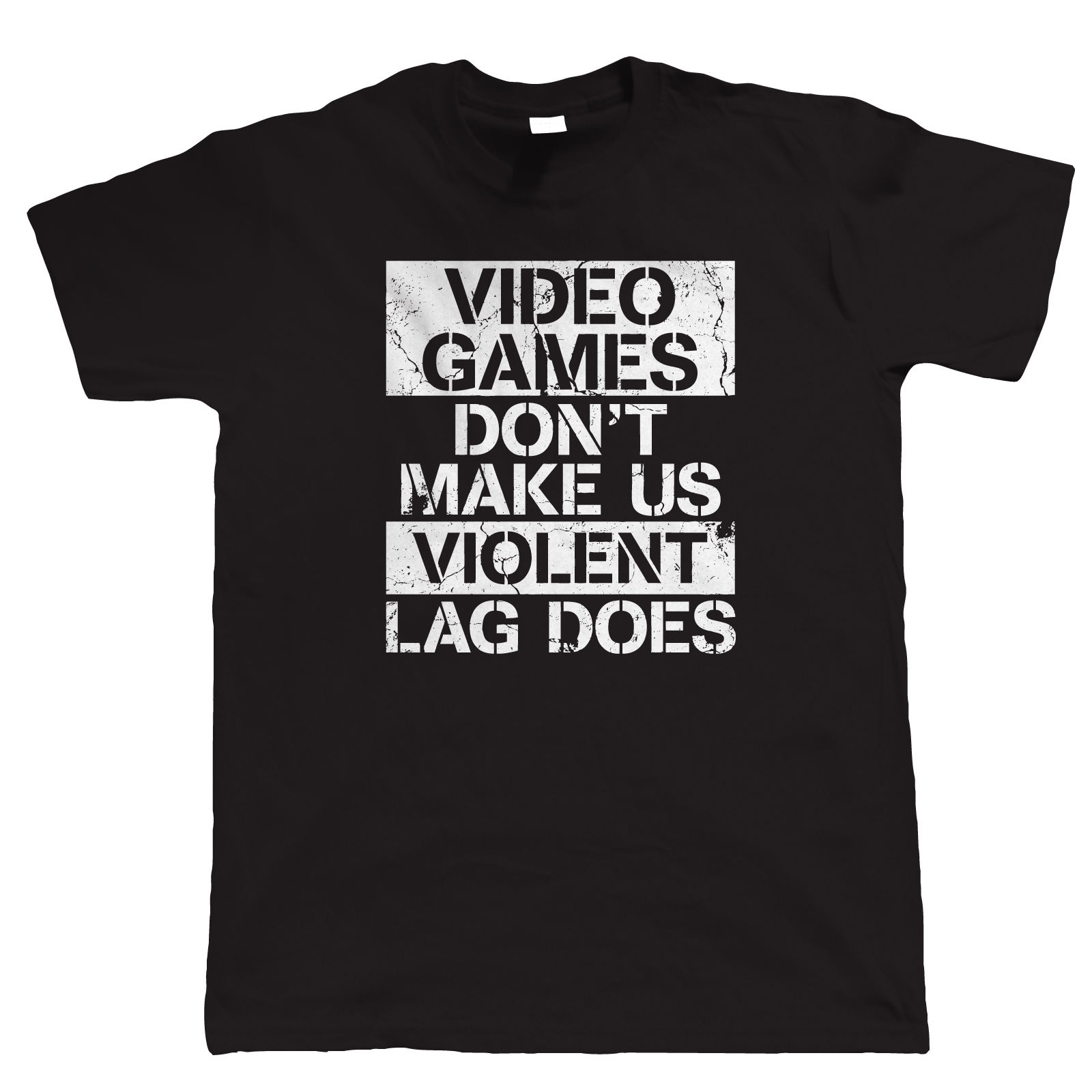 Funny T Shirts Online Novelty Personal DonT Make Us Violent Gam Pc Gam Fps Video Game Tall O Neck Short Sleeve Mens Tees