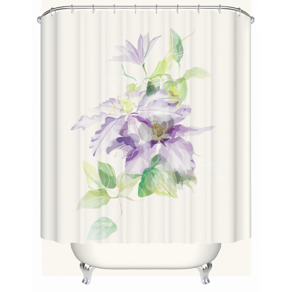 popular shower curtain patterns buy cheap shower curtain patterns creative classical design pattern shower curtain waterproof polyester bath curtain with 12 plastic buckles china