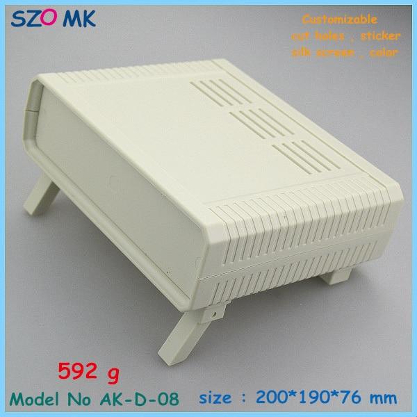 Wholesale 3pcs black plastic electronic enclosure project box abs plastic enclosure 200X190X 76 mm wholesale 383498 3 7v 1500mah