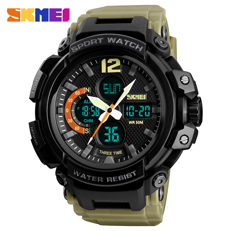 SKMEI Military Sports Watches Waterproof Mens Watches Top Brand Luxury Male Electronic Digital Watch Clock Men Relogio Masculino skmei 6911 womens automatic watch women fashion leather clock top quality famous china brand waterproof luxury military vintage