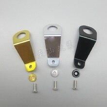 Алюминиевый радиатор кронштейн Болт Комплект Универсальный подходит для 92-95 Honda Civic EG автомобильный бак для воды радиатор Поддержка кнопки