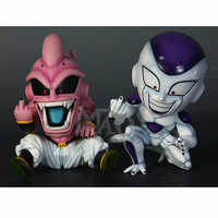 2019 New 12cm Dragon Ball Z Evil Majin Buu/Boo Frieza GK Resin Statue Action Figure Collection Model Brinquedos Figurals Gift