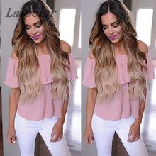 Hot Apparel Sexy Off Shoulder Top Women Blouses Ruffles Slash Neck Ladies Office Shirts Tops 2018 Casual Solid blusas