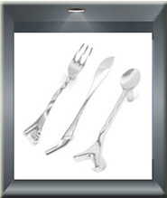 Spoon Fork Knife Cabinet Handle 2