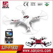Professional drone DFD F183D FPV rc quadcopter 5.8G FPV 6 Axis Real-time Transmission HD Camera helicopter  vs syma X8G QR x350