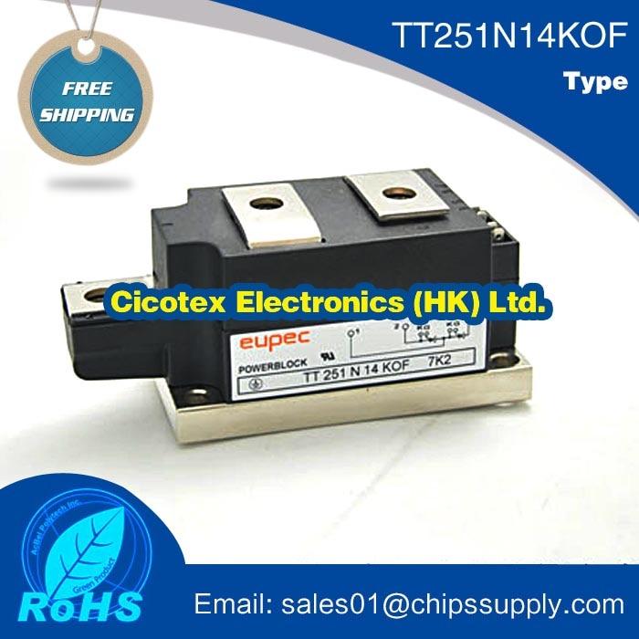 IC 1PCS TT251N14KOF power thyristor module TT251N14K0FIC 1PCS TT251N14KOF power thyristor module TT251N14K0F