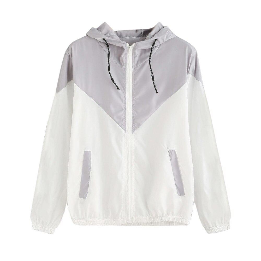 Women's Hooded   Jackets   Causal Tie dye windbreaker Women   Basic     Jackets   Coats Sweater Zipper Lightweight   Jackets   Bomber Famale 2#