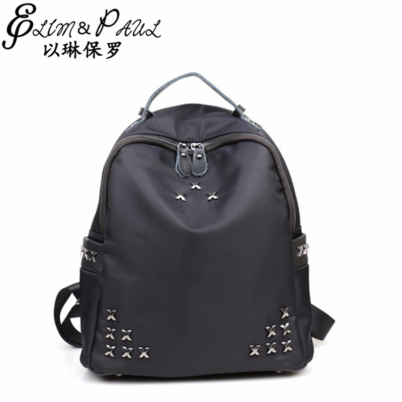 2017 Fashion Brand ladies designer Backpack School for teenage girls High quality Backpack summer new classic