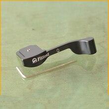 Приспособленных custol цифровой Камера Гора большой палец ручка для Leica Q Typ116 MZ-Q алюминия Материал черный Цвет высокое качество
