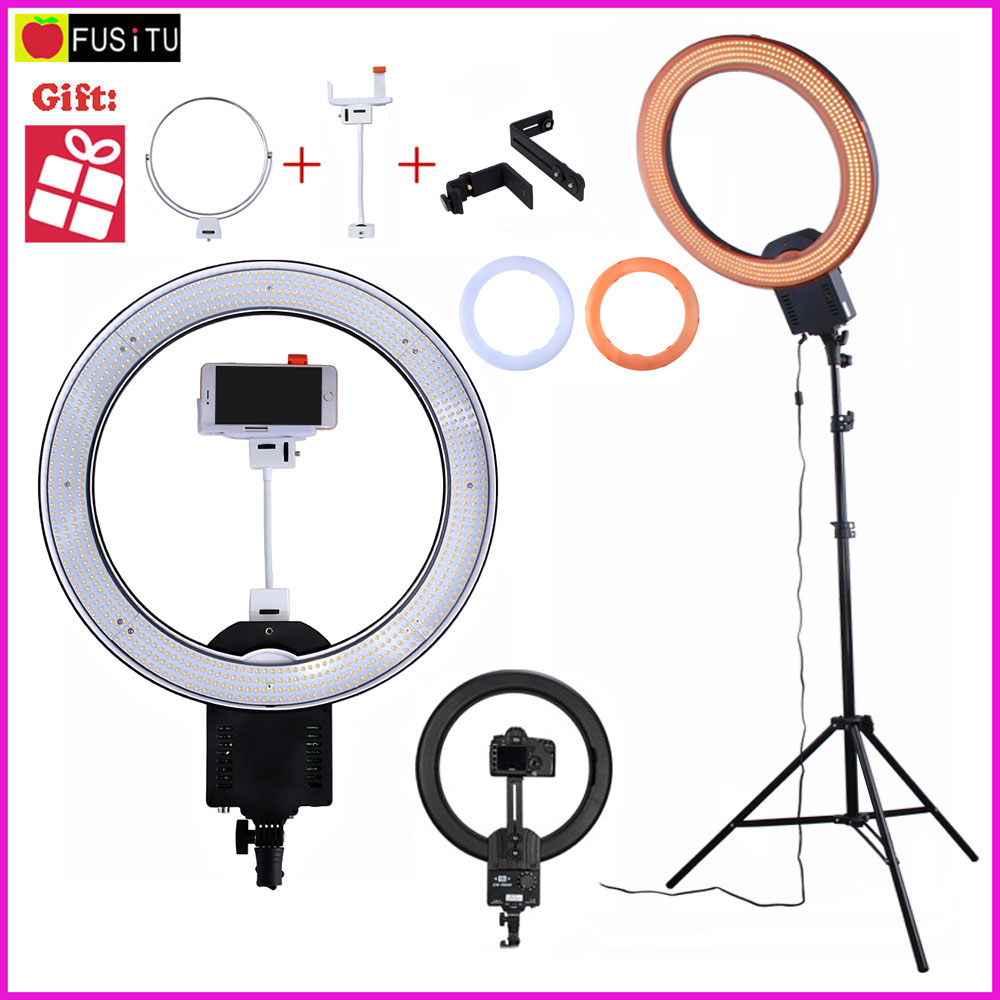 NanGuang CN-R640 CN R640 Photography Video Studio 640 LED Continuous Ring Light 5600K Day Lighting LED Video Light with Tripod