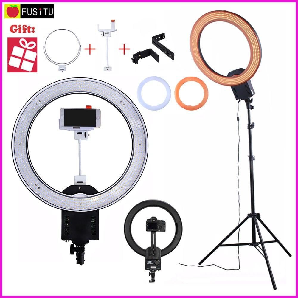 NanGuang CN-R640 CN R640 Photographie Vidéo Studio 640 LED Anneau Continu Lumière 5600 K Jour Éclairage LED Vidéo Lumière avec trépied