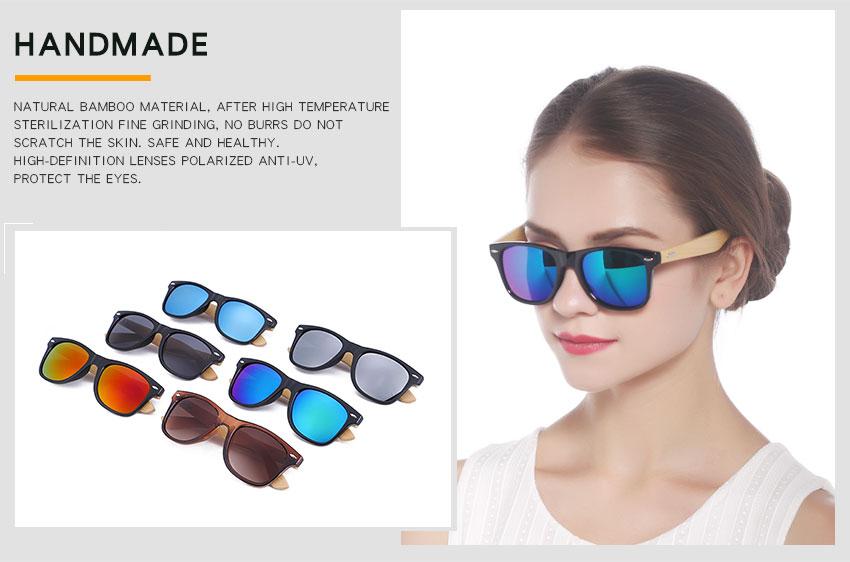 Bamboo Sunglasses (Bemucna)