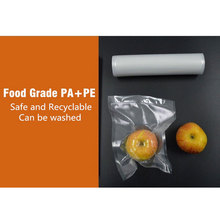 Vacuum Sealing Machine Bags For Food 12+15+20+25+28*500cm including 5pcs Vacuum Packaging Rolls