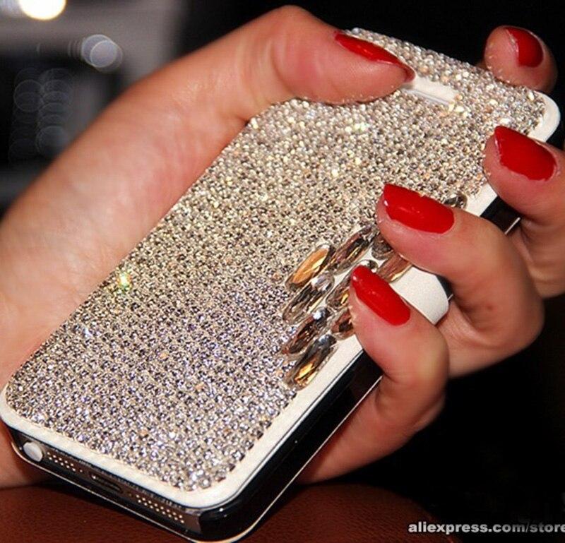 imágenes para De lujo de bling del diamante del cuero del tirón de cristal case capa coque para samsung j1 ace J2 J3 J5 J7 A3 A5 A7 A8 2015 2016 J510 J710 A510 A9