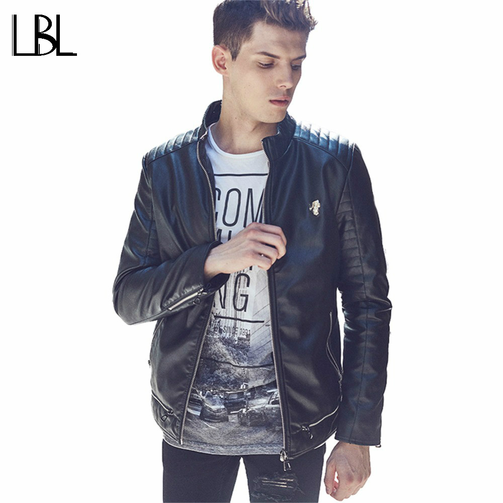Winter PU Leather Jacket Men Brand Luxury Casual Suede Jacket Mens Motorcycle Jackets Coats Jaqueta Couro Men Leather Garment