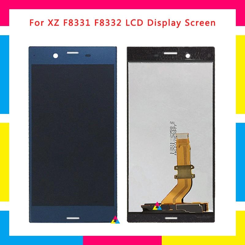 5 pcs LCD Écran D'affichage Avec Écran Tactile Digitizer Assemblée Pour Sony Xperia XZ F8332 F8331 Remplacement