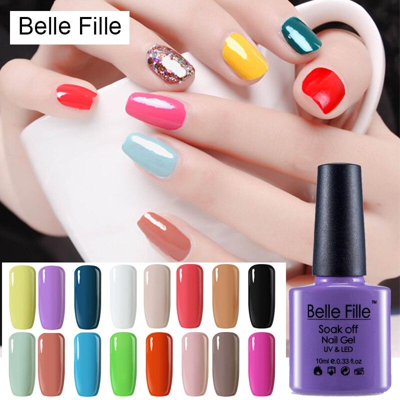 10ml Colorful Coat Bling Gel font b Nail b font font b Polish b font Natural