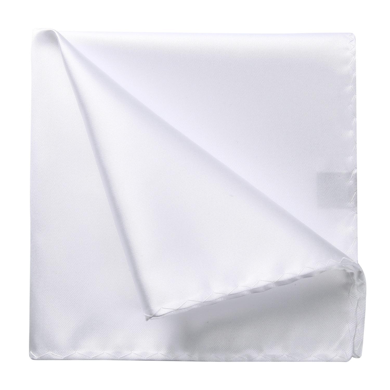 Wedding Party Handkerchief Solid Color Men Silk Pocket Square Hanky Wedding Party Handkerchief #B10