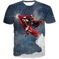 Handsome Deadpool Fly Ironman T-Shirt Hipster 3D t shirt Men Women Summer Short Sleeve Tops Galaxy t shirts Casual tee shirts