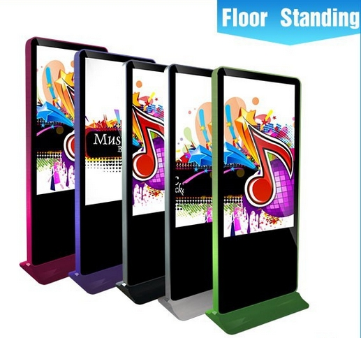 42/47/55inch Shopping Mall Super Market Wifi Bluetooth Advertising LG Led Lcd Tv Totem Display Signage CCTV Monitor Display