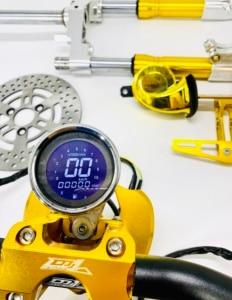 Image 5 - Kit de guidão para scooter, conjunto com amortecedores de disco de freio, peças de ajuste para jog dio cuxi bws