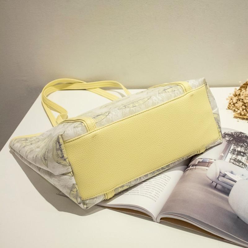 Bolsa de playa con estampado de labios de alta calidad bolsa de playa - Bolsos - foto 4