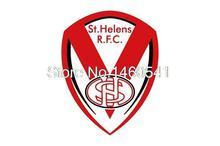 St. Helens RFC Flag 3ft x 5ft Engage Rugby Super League SLE Banner Size 4 144* 96cm Flag