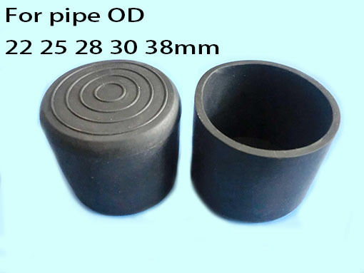 Aliexpress Com Buy 25mm Round Cover Cap Pipe Tube Table