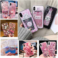 Liquid Water Case Soft Silicone Cover for Samsung Galaxy Note 3 4 5 8 9 M10 M20 C5 C7 C9 Pro Whale Unicorn Minnie Phone Cases