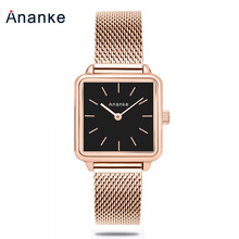 2018 Luxury Ladies Wristwatch Women Quartz Dress Bracelet Watch Rose Gold Steel Mesh Female Clock relojes mujer relogio feminino aesop tungsten steel watch women rose gold bracelet quartz wristwatch elegant thin ladies clock montre femme relogio feminino