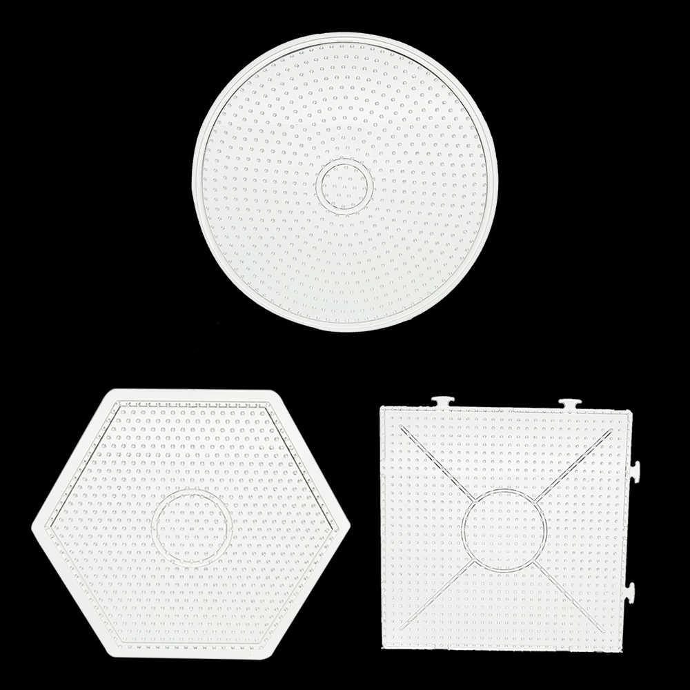 2018 наборное поле для пазлов шаблоны для 5 мм Хама бусины 3D головоломки игрушки для детей