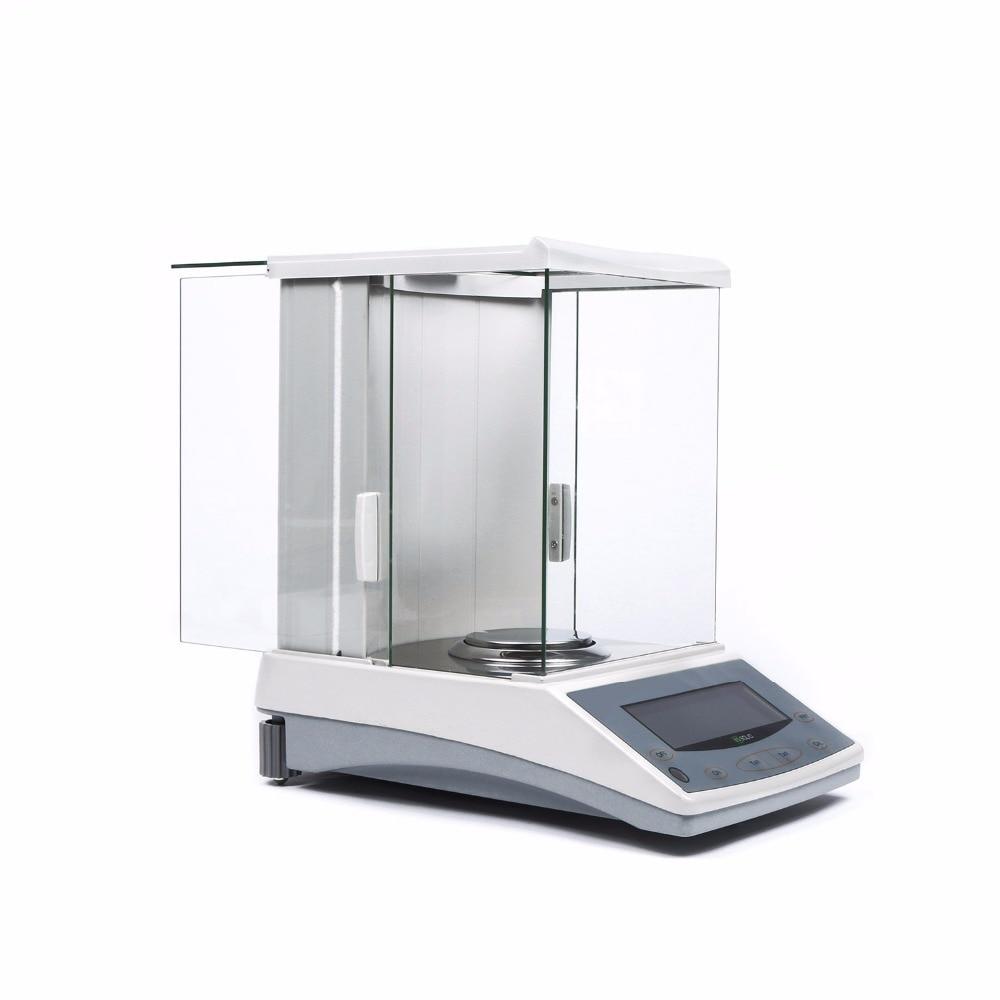 JAV vientisa 220 x 0,0001 g 0,1 mg laboratorinės analizės - Matavimo prietaisai - Nuotrauka 4