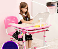 Children Learn The Lifting Tables And Chairs Set Desk Desk Desk Desk And Chair For Preventing