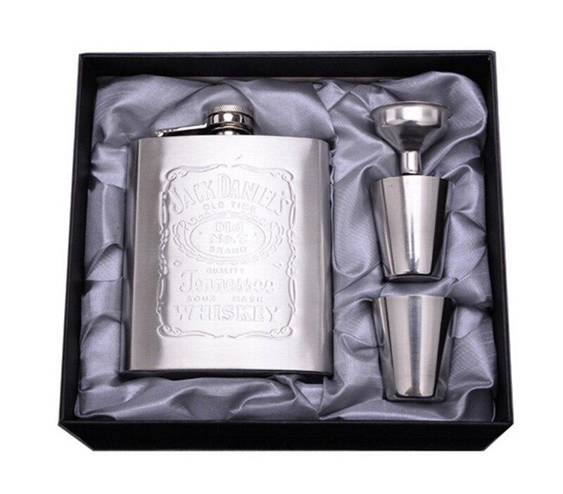 Luxus Flachmann mini alkohol flasche 7 unze moonshine mit einem ...